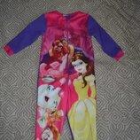 Флисовая пижама Disney на 2-3 года рост 98 в идеале