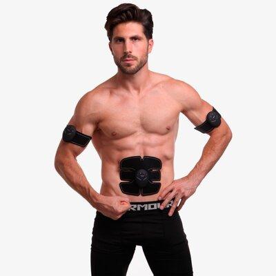 Миостимулятор для тренировки всех групп мышц Smart Fitness 0324 силикон, ABS-пластик, металл