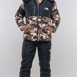 Зимний мужской костюм Камуфляж. Размеры 46,48,50,52.