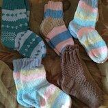 Продаю вязаные детские носочки