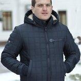 Мужская Зимняя куртка плащёвка эмми 370 батал . Размеры 54,56,58,60.