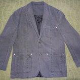 Пиджак 100 котон, 52-54, Италия. Эксклюзив.