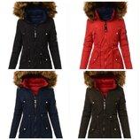 Двусторонняя женская куртка зимняя