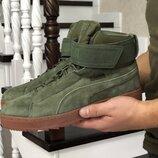 Ботинки Puma зимние мужские кроссовки на меху