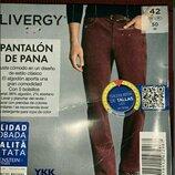 Вельветовые брюки Livergy германия размер М евро 42