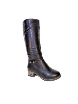 Сапоги зимние женские высокие, на каблуке, теплые, комфортные. Размер 37-41