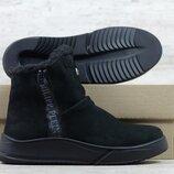 Мужские кожаные зимние ботинки Уг нуб/PP