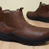 Оригинальные кожаные ботинки Skechers Holdren Volsent Chukka 43,5р/28,5см
