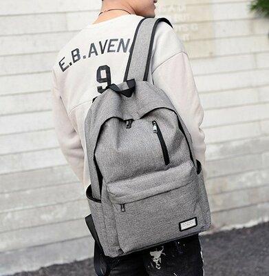 Серый рюкзак, спортивный