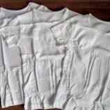 Белая футболка хлопок для девочки производство Mothercare Мазекеа
