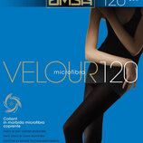 Плотные матовые колготы Omsa Velour 120