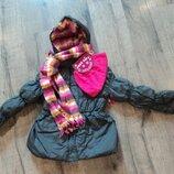 Зимняя куртка Pink Platinum р 7-8
