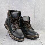 Ботинки подростковые зима кожа