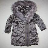 Зимняя куртка- пуховик Next отличное состояние