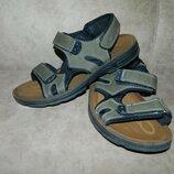 Босоножки сандали мужские зеленые хаки Fashion Размер 44.