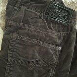 джинсы штаны шоколад под бархат велюр Gardeur