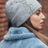 Шапка-Колпак,зима с камнями, цвета