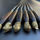 Шампуры Подарок охотнику в чехле из плотной ткани 6ш
