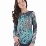 Фирменная стильная блуза, кофточка. Натуральный состав. Есть большие размеры до 4XL.