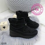 Зимние ботинки, полусапожки, угги на меху 36-41
