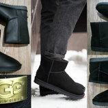 40р,41р 42р 43р 44р 45р Угги UGG натуральные замшевые мужские ботинки