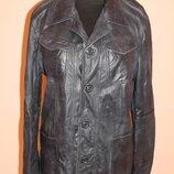 Куртка - піджак з шкіри Armani Jeans
