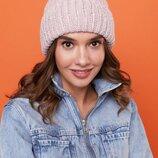 Набор шапка и шарф хомут много расцветок