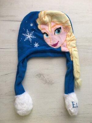 шапка для девочки 4/8 л Disney Elsa frozen на об єм 48-52 см