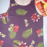 майка женская футболка летняя пляжная размер L 50/16