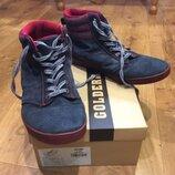 Модные кроссовки хайтопы Тм Golderr размер натуральная замша р 41-42