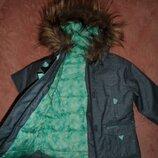 Quechua,суперская,термокуртка 98-104р,в идеале