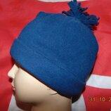Флисовая фирменная стильная детская шапочка шапка .Papagino.6-9 лет