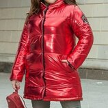 Зимняя двусторонняя курточка батал. Размеры 48-50,52-54,56-58.