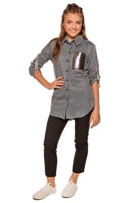 Рубашка, на рост 128-134, 140, 146, 152 см, арт.ML-011/SH-1716-G