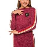 Платье, на рост 128-134, 140, 146, 152 см, арт.ML-011-1717-G