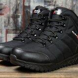 Зимние кроссовки на меху Kajila Fashion Sport, черные