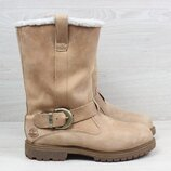 Кожаные женские ботинки Timberland Waterproof оригинал, размер 38 сапоги