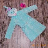 Гламурный халат M&S для девочки 5-6 лет, 110-116 см