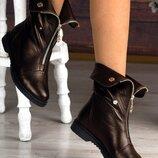 Женские ботинки трансформеры Натуральная кожа, замш Цвет, материал, сезон на выбор Деми или Зима
