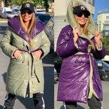 Двухстороннее пальто - одеяло DORATTI много расцветок