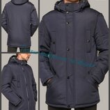 50-64, Тинсулейт, Мужская зимняя куртка. Куртка с капюшоном. Чоловіча зимова куртка, Мужская куртка