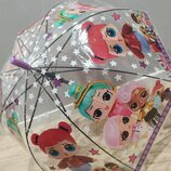Очень красивый, качественный зонтик Лол зонт, трость, Лол, LOL, кукла 2 вида