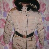 Зимняя куртка Mango 7-8 лет пуховик