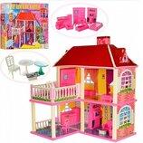 Кукольный домик 6980 2 этажа, 5 комнат, мебель