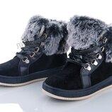 Детская обувь. Ботинки Clibee. Зимние ботинки для девочек