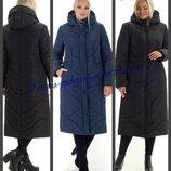 48-66, Зимнее женское пальто, Женский пуховик, большие размеры. Зимнее пальто, Жіноче зимове пальто