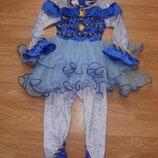 Новогодний костюм, снежинка, конфетка, фея, принцесса, 3 года, 98-104 рост