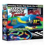 Светящаяся гоночная дорога Magic tracks меджик трэк, 220 деталей