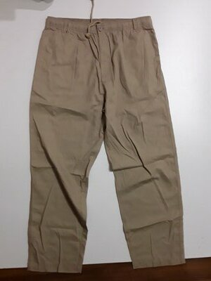 Фирменные легкие хлопковые брюки штаны L