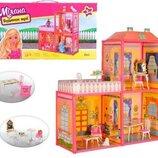 Кукольный домик 6984 2 этажа, 3 комнаты, мебель
